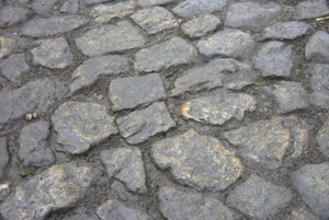 Cobbles after the SWEEPRITE treatment