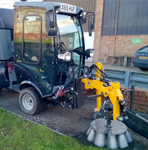 Reading Sweeper Hire - Moss and weed removal with Kersten brushes, sweepers and weedbrush